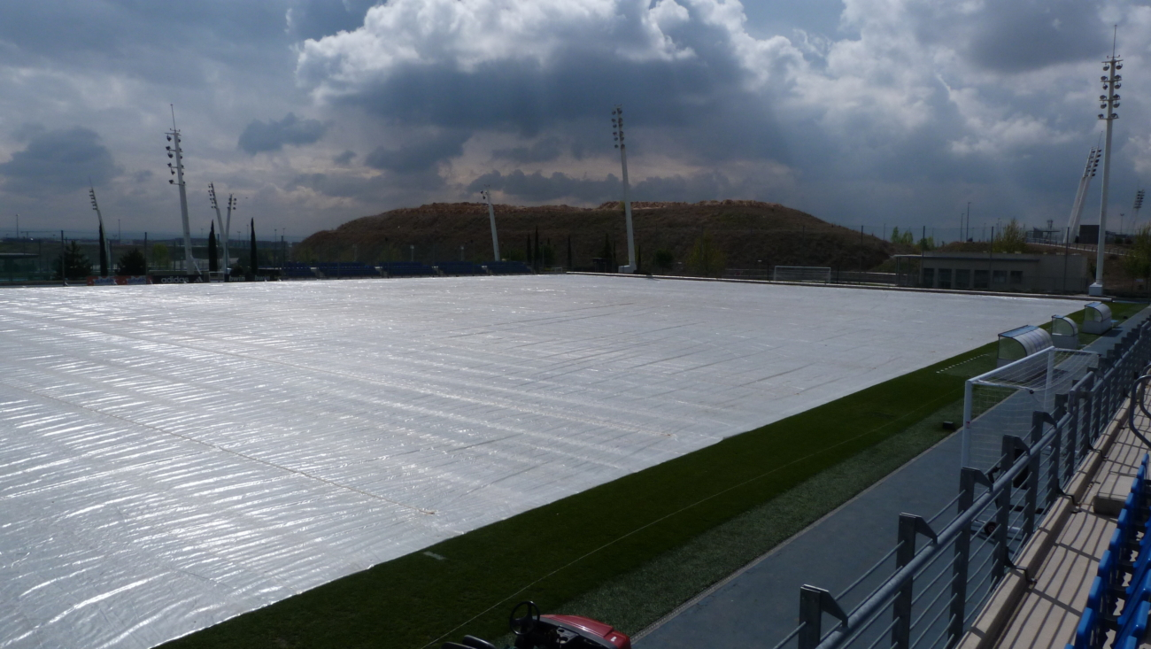 Incoming storm - Real Madrid Training Ground - Matchsaver Automated System