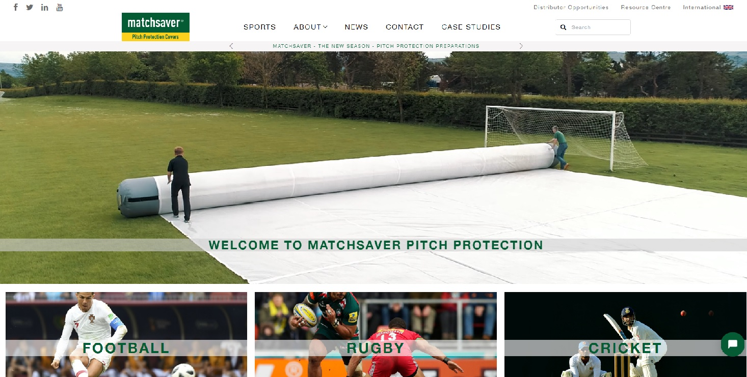 Matchsaver Pitch Protection Covers